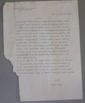 Image of 11282-50 - Letter from Miron Jvasik to the Ukrainian American Youth Association headquarters in Omaha