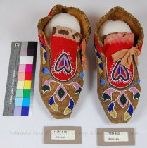 Image of 11284-8-(1-2) - Moccasins, Men's; Set 11284- 4, 7, 8