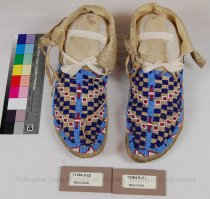 Image of 11284-9-(1-2) - Moccasins, Womans; Pair