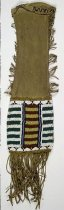 Image of 11310-18 - Pipe Bag, Beaded; Cheyenne,