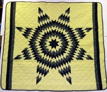Image of 11364-37 - Quilt, Lone Star