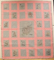 Image of 11384-1 - Quilt, Embroidery; Omaha World-Herald Patterns of 1930s