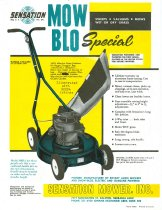 Image of 11421-30 - Brochure, Sensation Mow-Blo Special