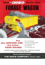 Image of 11421-4 - Brochure, Snowco Model 1000 Forage Wagon