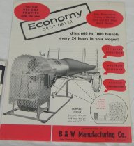 Image of 11421-55 - Flyer, B & W Manufacturing Co., Crop Dryer