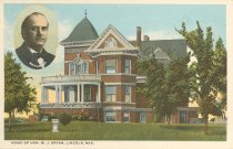 Image of 11557-2 - Postcard; William Jennings Bryan; Fairview
