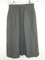 Image of 11640-106 - Skirt, Gray Wool