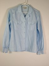 Image of 11640-136 - Blouse, Light Blue