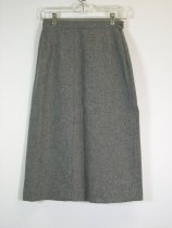 Image of 11640-137-(2) - Skirt, Gray Wool