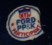 Image of 11640-197 - Patch, Punt, Pass and Kick Participant, 1967