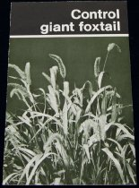 Image of 11640-324-(3) - Brochure, Control Giant Foxtail