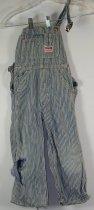 Image of 11640-409 - Pants, Overalls, Striped, Big Mac, Boy's