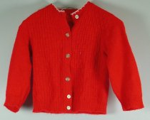 Image of 11640-442 - Sweater, Red, Girl's