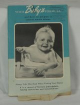 Image of 11640-474 - Booklet, Your Baby's Formula and How to Prepare it