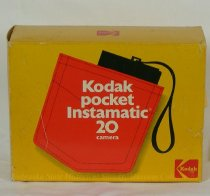 Image of 11640-480 - Box, Kodak Poket Instamatic 20 Camera