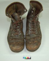 Image of 11640-516-(1-2) - Boots, Work, Brown Leather