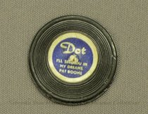Image of 11640-539-(58) - Record, Miniature, Used with Barbie Doll