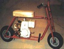 Image of 11662-1 - Bike, Motor; Mike-Bike/Sensation Manufacturing Co.