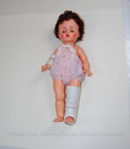 Image of 11681-37 - Doll; Vinyl; Girl; Mary Bell Get Well