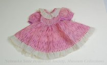 Image of 11681-39 - Clothes, Doll; Pink Dress