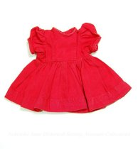 Image of 11681-44 - Clothes, Doll, Red Dress