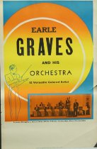 Image of 11744-61 - Poster, Earle Graves and His Orchestra
