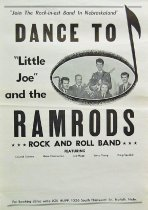 Image of 11744-62 - Poster, Little Joe and the Ramrods