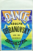 Image of 11744-89 - Poster, Adolph Urbanovsky and His Bohemian Orchestra