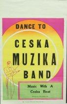 Image of 11744-93 - Poster, Ceska Muzika Band, Seward
