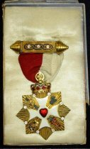 Image of 11936-3 - Independent Order of Odd Fellows Patriarchs Militant Badge