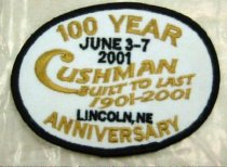 Image of 11941-15 - Patch, Cushman 100 Year Anniversary