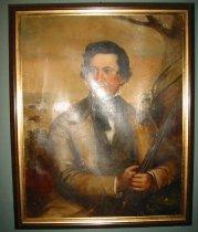 Image of 292P-1 - Portrait, Peter Sarpy, 1852; By Manuel Joachim de Franca, St. Louis, 1852