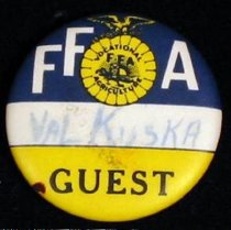 Image of 13000-3177 - Button, FFA, Guest