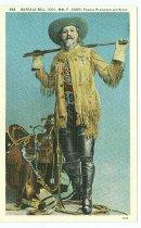Image of 13000-3032 - Postcard; 994 Buffalo Bill (Col. Wm. F. Cody) Plainsman and Scout