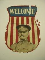 Image of 13000-3564 - Poster, General John J. Pershing, Welcome