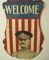 Image of 13000-3565 - Poster, General John J. Pershing, Welcome