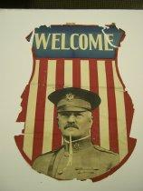 Image of 13000-3566 - Poster, General John J. Pershing, Welcome