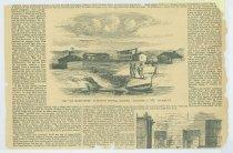 Image of 13000-50 - Print, Sarpy Trading Post; Frank Leslie's, June 5, 1858