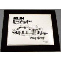 Image of 13002-5 - Print, KLIN Groundbreaking