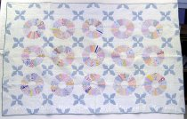 Image of 13012-1 - Quilt; Dresden Plate