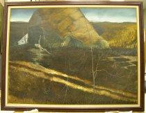 Image of 13048-1 - Painting, Wind Tarp, by Thomas D. Palmerton