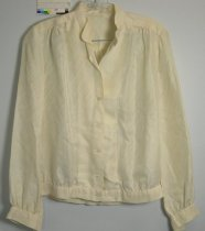 Image of 13061-8 - Blouse, Thom Vaccaro, Cream Colored