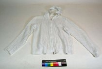Image of 13084-21 - Sweater, White, Hooded