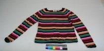Image of 13084-35 - Sweater, Multi-Colored Stripe
