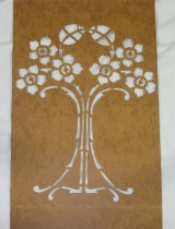 Image of 13086-9 - Stencil, Six Flowers