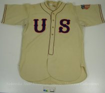 Image of 13089-1-(1) - Shirt, Baseball, 1938 World Championship, George Binger