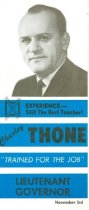 Image of 13117-11 - Brochure, Thone Campaign