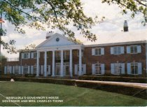 Image of 13117-3 - Brochure, Governor's Mansion, Gov. & Mrs. Thone