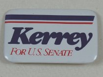 Image of 13120-10 - Button, Political, John Kerrey, Kerrey for U.S. Senate