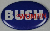 Image of 13120-101 - Button, Political, George H.W. Bush, Bush Women